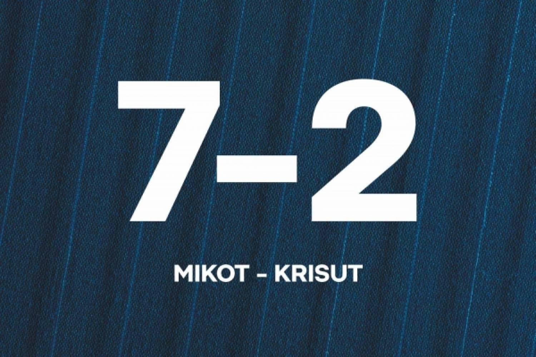 Pohjola-leirin maalikooste: Sijat 5–6 – Mikot–Krisut 7–2