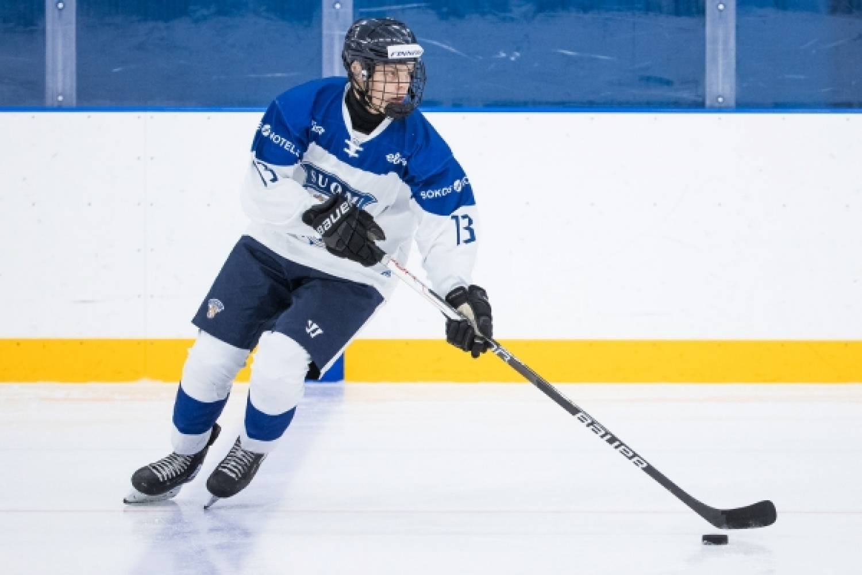 """U16:n hyökkääjä Markus Loponen voitokkaan Saksa-otteluiden sarjan jälkeen: """"On tämä ollut tosi hieno kokemus"""""""