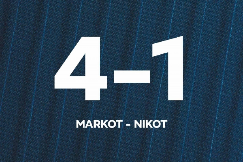 Pohjola-leirin maalikooste: Sijat 3–4 – Markot–Nikot 4–1