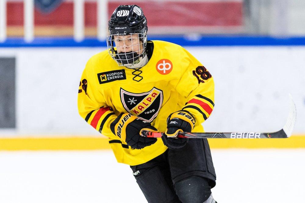 U18 SM-sarjan pistepörssin kärkimies Rasmus Kuiri: