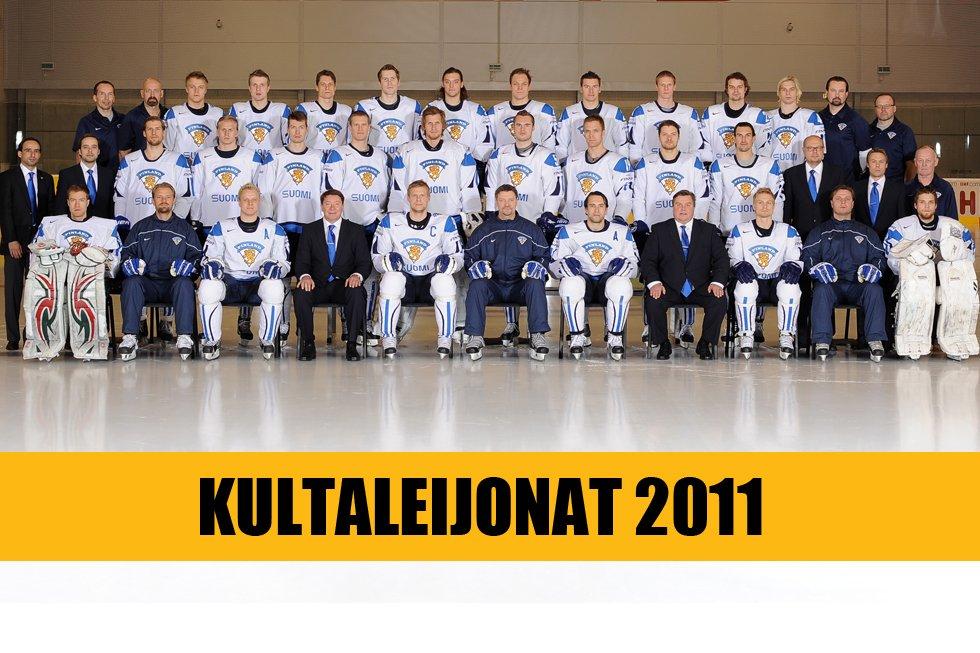 jääkiekon mm 2011 kokoonpanot