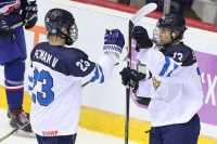 Pikkuleijonilla on sunnuntain Venäjä-pelissä potissa lohkovoitto - Poikien MM-kisojen alkulohkojen tilanteet lauantain otteluiden jälkeen