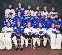 Näinkin voi satavuotiasta Suomea kunnioittaa - Siniristimeininkiä joukkuekuvassa!