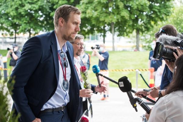 Jalonen ja Anttila johdattivat MM-joukkueen kotiin – 20 kuvaa paluujuhlasta