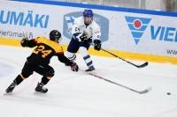 """U16:n parhaana pelaajana palkittu Aatu Räty: """"Odotimmekin kovaa peliä"""""""