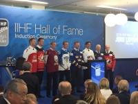 Jere Lehtisen uraa kunnioitettiin Kööpenhaminassa - Nämä kahdeksan henkilöä nimettiin IIHF:n Hall of Fameen