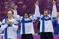 2014 - Selänteen, Timosen, Jokisen ja Salon pronssiset jäähyväiset - Naisleijonat hyytyi mitalipelien ulkopuolelle