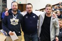 Pohjola-leirin Hannu Aravirta -palkinto jaettiin finaalijoukkueiden valmentajien kesken