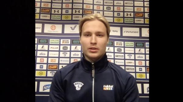 """Nuorten Leijonien hyökkääjä Roni Hirvonen: """"Onnistumisia tuli, oli hyvä turnaus"""""""