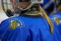 Leijonapennut jää- ja opiskeluleirillä Kuortaneella - Tässä joukkue!