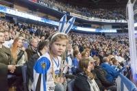 Leijonien pelit saivat ihmiset liikkeelle - Karjala-turnauksen yleisömäärä 46 110