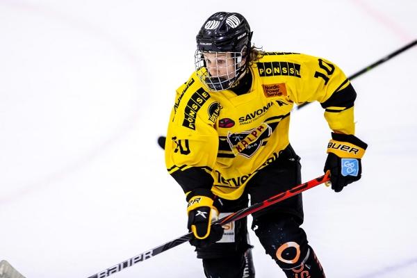 KalPan Oliver Kapanen nimettiin U20 SM-sarjan marraskuun parhaaksi nuoreksi pelaajaksi