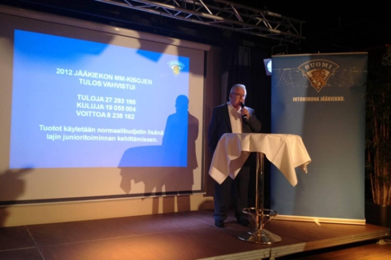 MM-kotikisojen tuotto 8,2 miljoonaa euroa