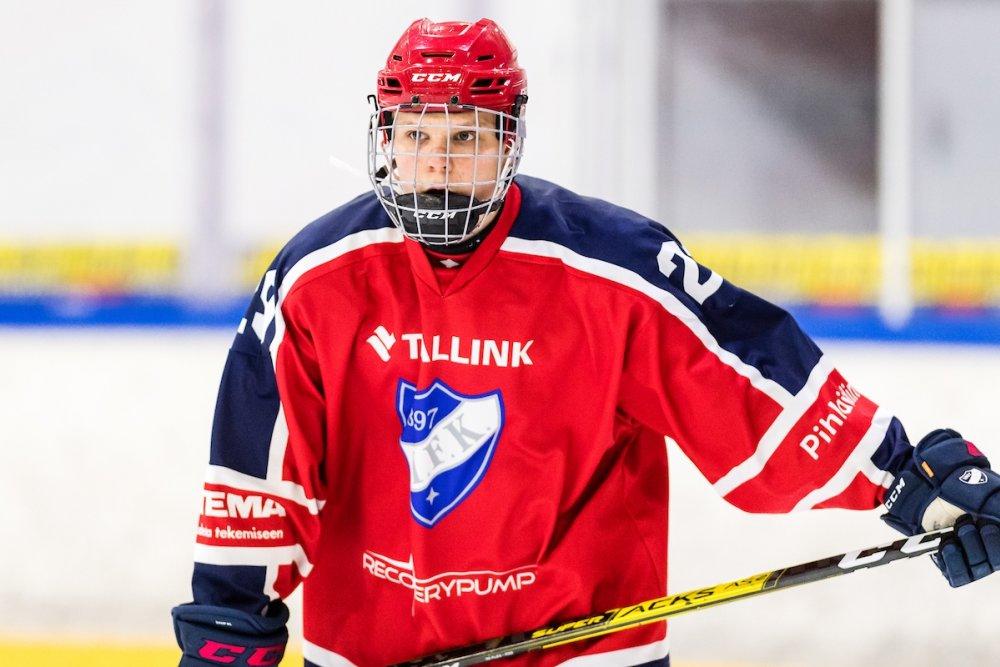 U18 SM: HIFK-sentteri tehoili pistepörssin kärkeen