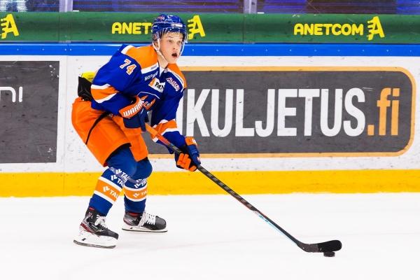 Tapparan hyökkääjä Jere Henriksson marraskuun paras pelaaja U20 SM-sarjassa