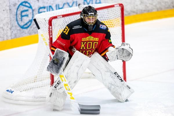 Virtanen johtaa maaliltaan KOOVEEn taistelua U20 SM-jatkosarjassa
